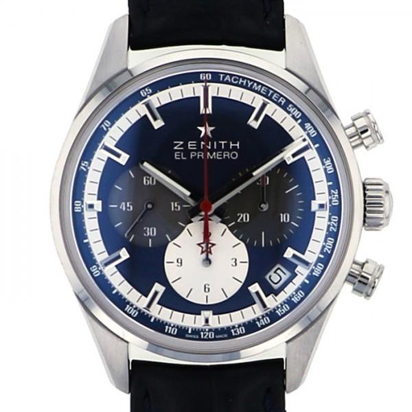 ゼニス ZENITH その他 エルプリメロ 36000VPH 03.2150.400/53.C700 ブルー文字盤 メンズ 腕時計 【新品】