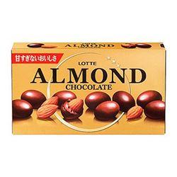 (本州一部送料無料) ロッテ アーモンドチョコレート (10×8)80入 (ケース販売) #