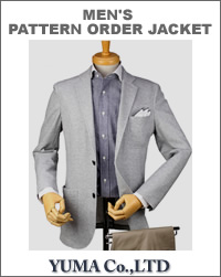 JATTS オーダージャケット生地番号J302-Jジャケット・無地/綿61%・ポリエステル39%/ニット素材
