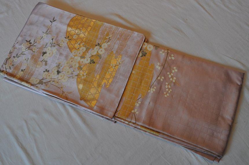 ki25**本物♪お仕立て済訪問着*手縫い日本製日本人による手縫い特別価格