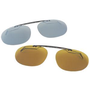 Decot 偏光サングラス 超歓迎された クリップオンサングラス デコット 激安卸販売新品 クリップオン偏光グラス2色組 送料無料 代引き手数料無料