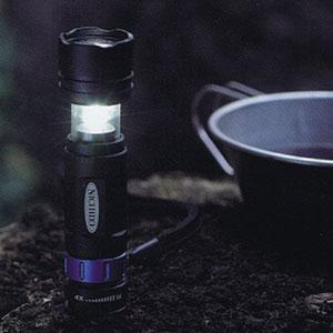 超高輝度3W式LED2WAYライト(ランタン付き)[代引き手数料無料]