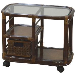 レトロな風情 店内限界値引き中 セルフラッピング無料 籐サイドテーブル 直送商品 送料無料 代引き手数料無料