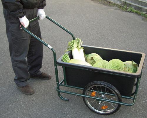家庭菜園用スチールリアカー[代引き手数料無料][送料無料]