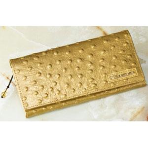 黒門風水式 幸せの風水財布(オースト型押し)【代引き手数料無料】【送料無料】
