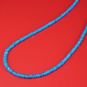 鮮烈な青50ctネオンブルーアパタイトネックレス[代引き手数料無料][送料無料]