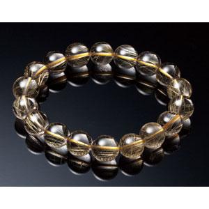 最高級AAAAA天然ゴールドルチルブレスレット【8mm珠】【代引き手数料無料】【送料無料】
