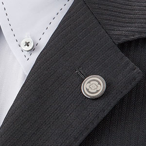 継承される伝統の家紋衿章【代引き手数料無料】
