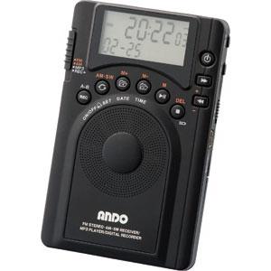 最大128時間録音短波も聞けるラジオレコーダー【代引き手数料無料】【送料無料】