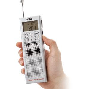 海外ラジオも聴けるハンディBCLラジオ【代引き手数料無料】【送料無料】
