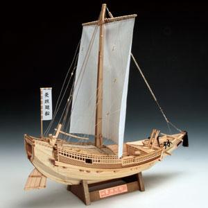 木製模型 1/72 菱垣廻船【代引き手数料無料】【送料無料】