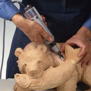 堅木も深彫りできる!強力型超振動式木彫機【代引き手数料無料】【送料無料】