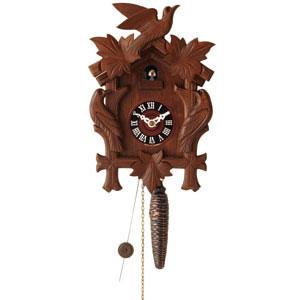 独フーベルト・へール社 木製手彫りカッコー時計【代引き手数料無料】【送料無料】