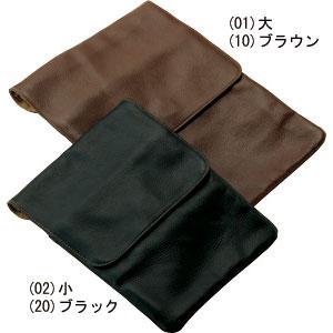 上着の下でもフィットする柔らか薄型牛革ショルダー【大】【代引き手数料無料】【送料無料】