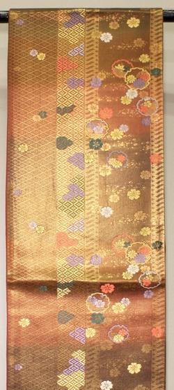 【中古】(正絹)袋帯 西陣袋帯