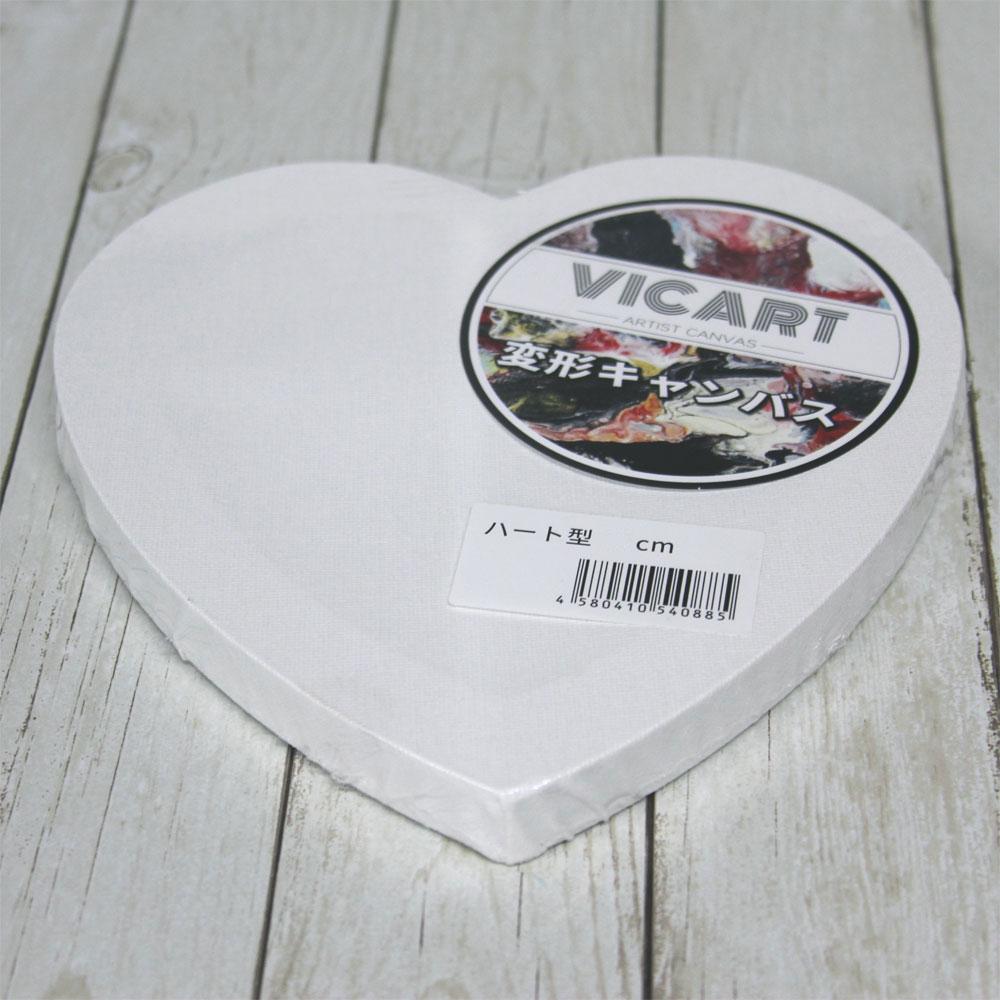 バースデー 記念日 ギフト 贈物 お勧め 通販 ハート型 張りキャンバス 30cm 19mm厚 新作 大人気