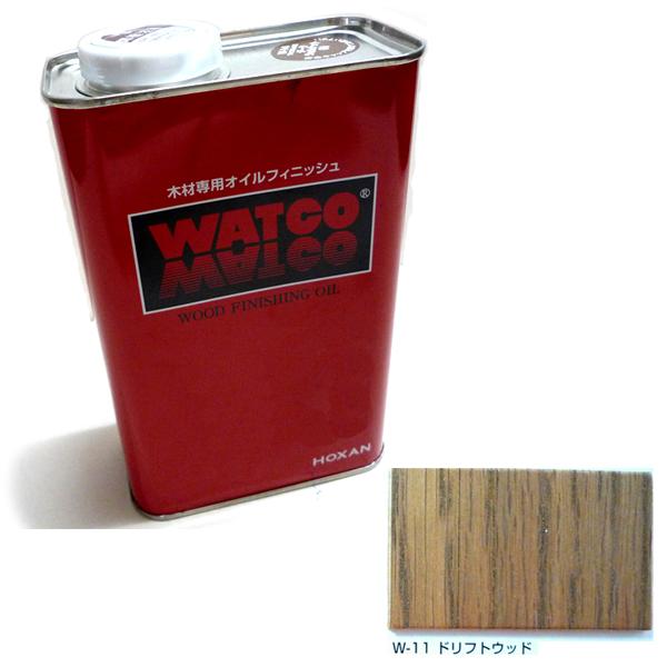 浸透性塗料 ワトコ オイル W-11 ドリフトウッド 16L キャッシュレス 5%還元対象