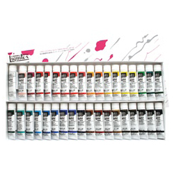 Liquitex リキテックス レギュラー#6 伝統色 36色 Aセット キャッシュレス 5%還元対象