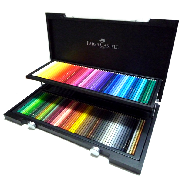 Faber-Castell ポリクロモス色鉛筆 120色セット (木箱入) キャッシュレス 5%還元対象