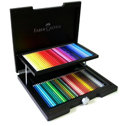 Faber-Castell ポリクロモス色鉛筆 72色セット (木箱入) キャッシュレス 5%還元対象