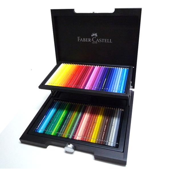 Faber-Castell アルブレヒト・デューラー 水彩色鉛筆 72色セット (木箱入) キャッシュレス 5%還元対象