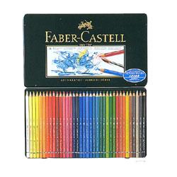 Faber-Castell アルブレヒト・デューラー 水彩色鉛筆 36色セット (缶入)