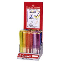 Faber-Castell Red-range カラーグリップ色鉛筆 288本入セット プラ什器 キャッシュレス 5%還元対象