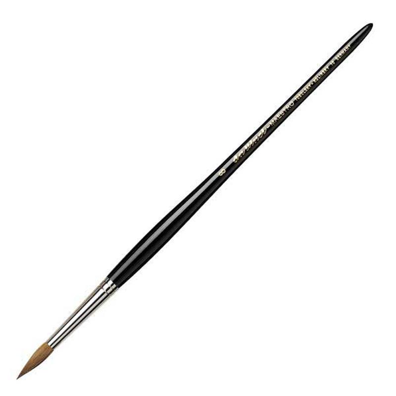 ダヴィンチ da Vinci 水彩筆 マエストロ 10 ラウンド 丸筆 8号 キャッシュレス 5%還元対象