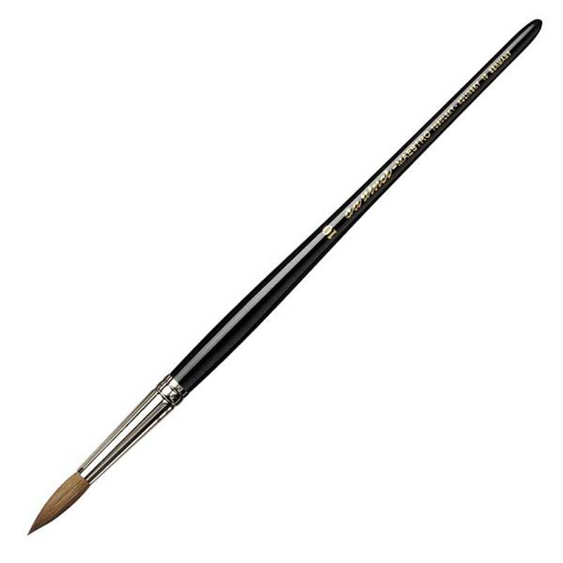 ダヴィンチ da Vinci 水彩筆 マエストロ 10 ラウンド 丸筆 10号 キャッシュレス 5%還元対象