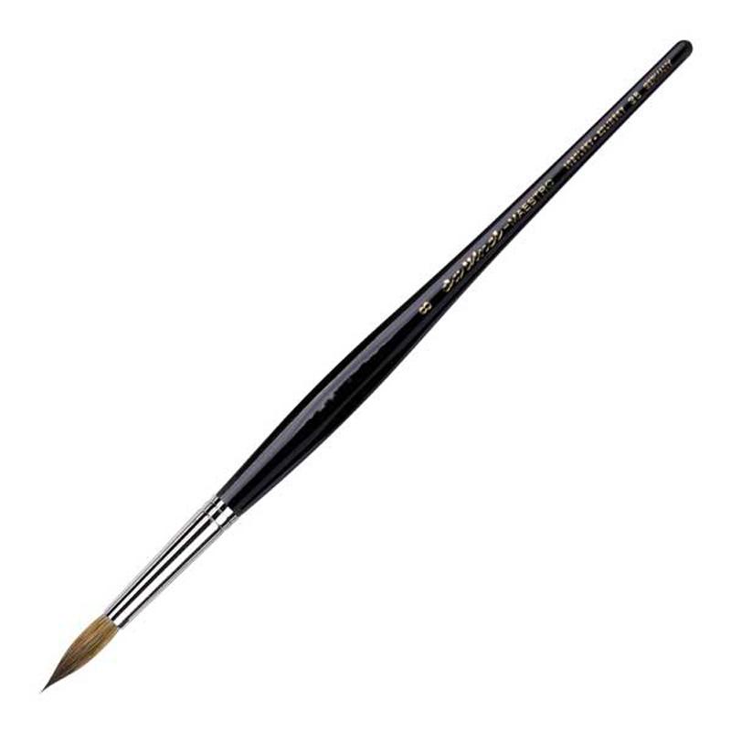 ダヴィンチ da Vinci 水彩筆 マエストロ 35 ラウンド 丸筆 8号 キャッシュレス 5%還元対象