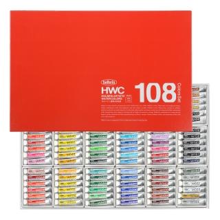 ホルベイン 透明水彩絵具 全色セット 2号チューブ (108色セット) キャッシュレス 5%還元対象
