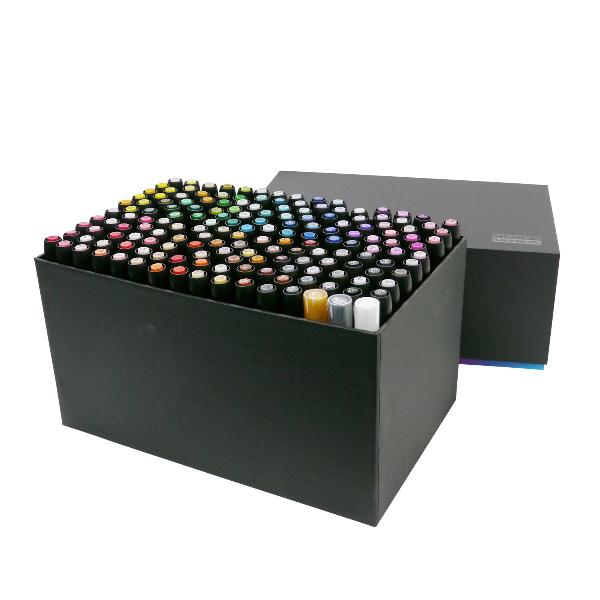 マービー アルコールマーカー ルプルーム 168色セット 3000B-168A キャッシュレス 5%還元対象