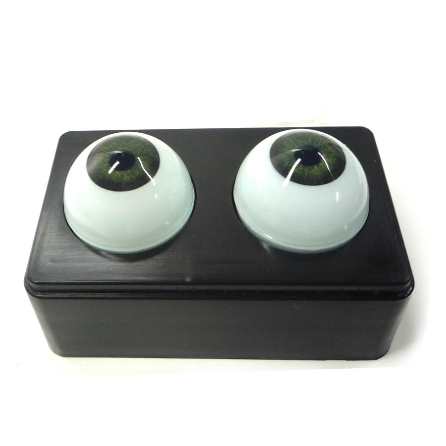 ビスクアイ グラスチック 緑10mm 白目部分含む UV ※人形の目 キャッシュレス 5%還元対象