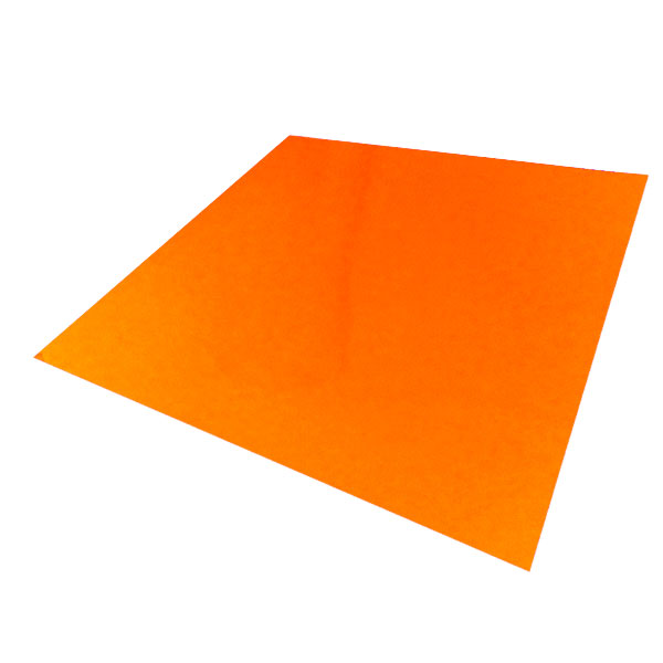 コンサート応援用フィルムシート ロールタイプ 蛍光色(30cm×10m)オレンジ キャッシュレス 5%還元対象