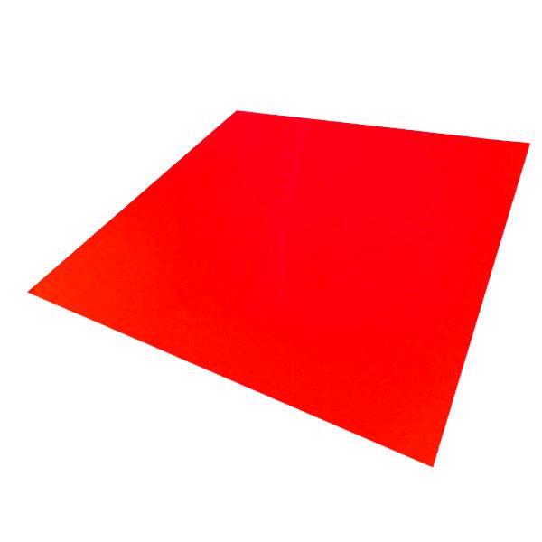 コンサート応援用フィルムシート ロールタイプ 蛍光色(30cm×10m)レッド キャッシュレス 5%還元対象