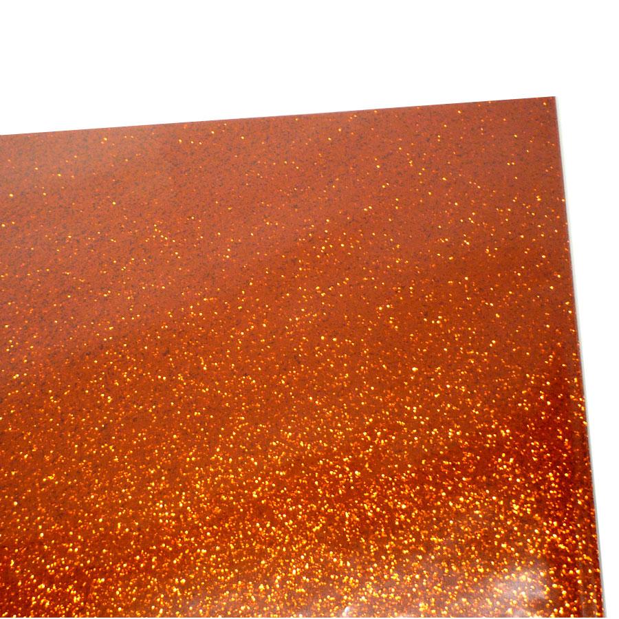 コンサート応援用フィルムシート ロールタイプ グリッター (30cm×20m) オレンジ キャッシュレス 5%還元対象