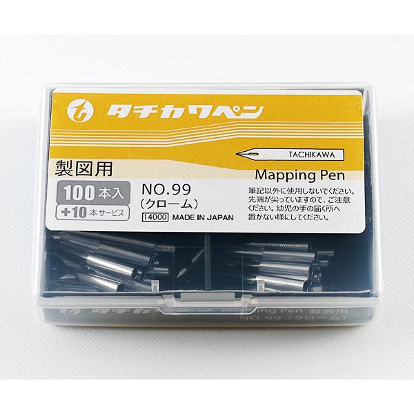 タチカワ No.99 丸ペン 100本入 +10本サービス