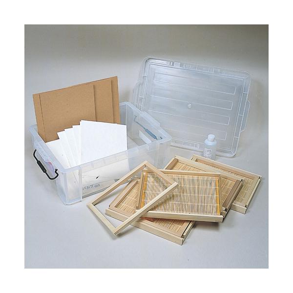 紙すき木枠 グループセット B5判 キャッシュレス 5%還元対象