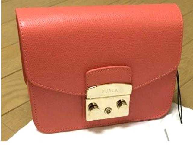 カバン  ピンク 茶色 レディース FURLA フルラ METROPOLIS CROSSBODY ショルダーバッグ シンプル エレガント 送料無料 鞄