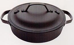 南部鉄器 クックトップ丸 浅形大