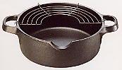 南部鉄器 天ぷら鍋20cm 及源鋳造製