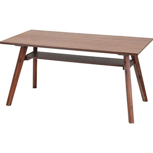 単品 ダイニングテーブル ダイニング用テーブル 食卓テーブル 机 ブラウン 茶