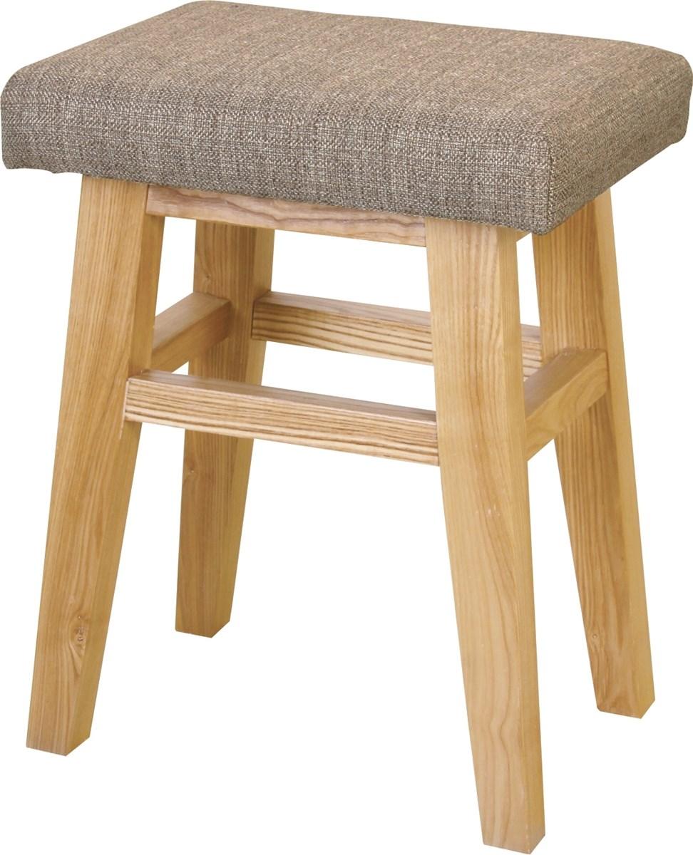 バンビスツール イス バーチェア 椅子 カウンターチェア (数量1) ベージュ
