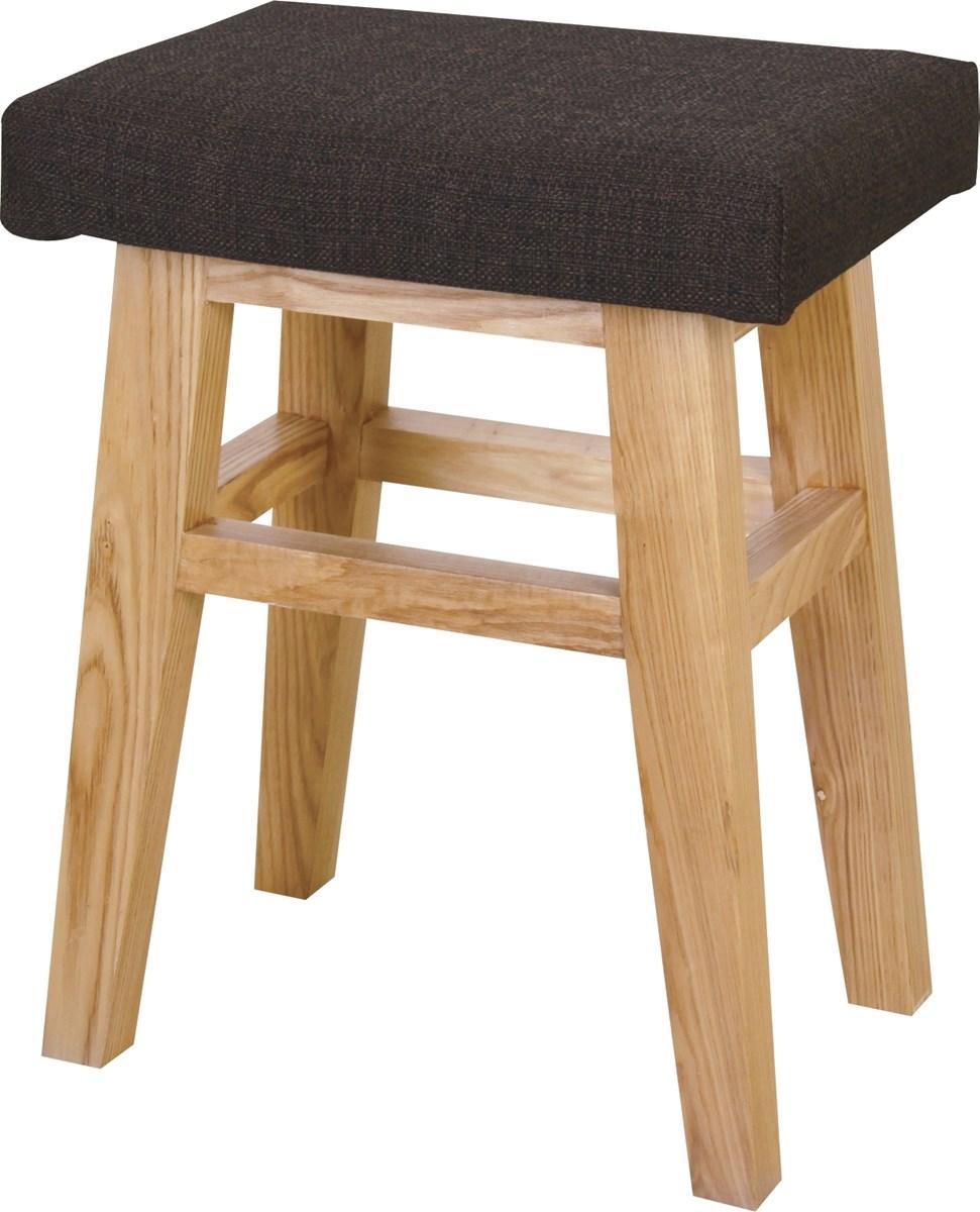 バンビスツール イス バーチェア 椅子 カウンターチェア (数量1) ブラウン 茶