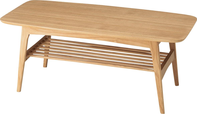 単品 ヘンリー センターテーブル 机 ナチュラル