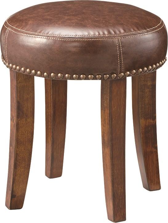 スツール イス バーチェア 椅子 カウンターチェア (数量1) ブラウン 茶