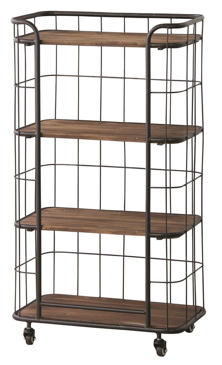 4段シェルフ 整理 収納 棚 キャビネット