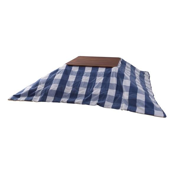 薄掛けこたつ布団 セイホウケイ (数量1) ブルー 青