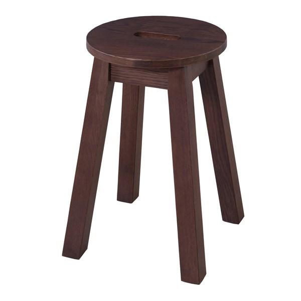 マルガタスツール イス バーチェア 椅子 カウンターチェア (数量1) ブラウン 茶 ダークブラウン 茶