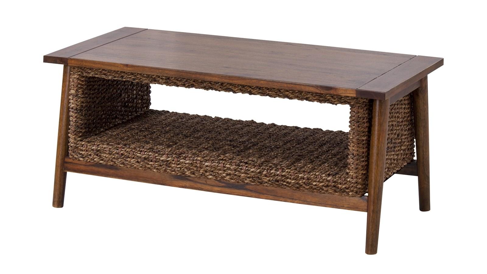 単品 アバカコーヒーテーブル 机